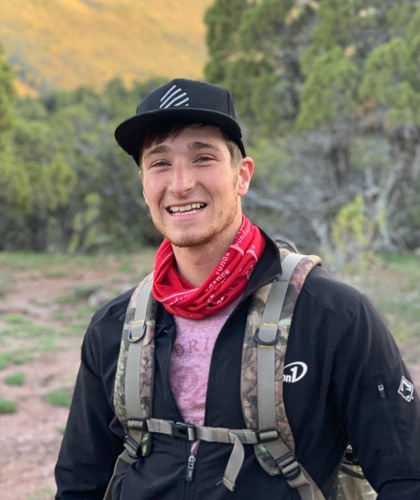 me hiking in WY Apr. 19'