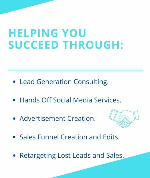 Helping you Succeed online through_